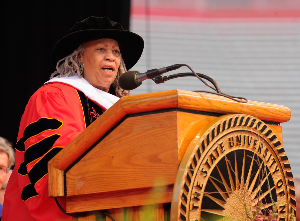 Toni Morrison at Rutgers 2011 Commencement Speech