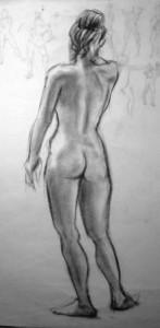 Figure Drawing Al Fresco in Battery Park
