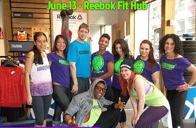 Kerboomka dancers at Reebok Fit Hub in NYC