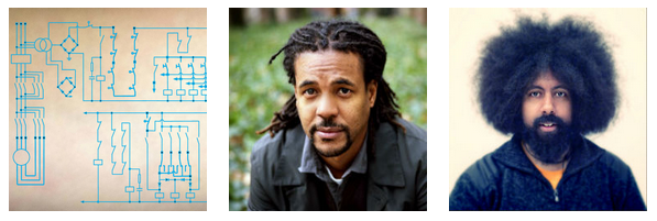 Colson Whitehead and Reggie Watts perform at the Drawing Center