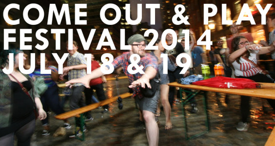 Come Out & Play Festival NYC 2014