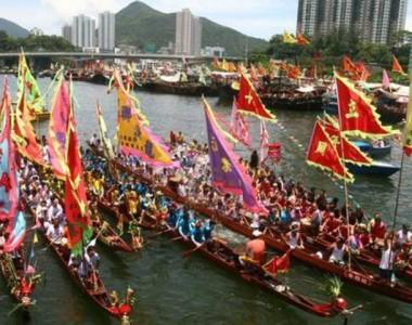 Hong Kong Dragon Boat Festival and Race