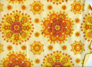 How's this for psychedelic flower-patterned wallpaper?