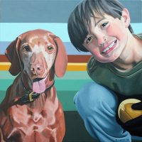 DOG & PONY SHOWS: Robert Lucy on Painting People with Pets (4/6)