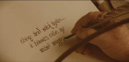 Bilbo-writing