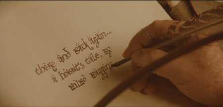 Bilbo-writing
