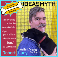 DOG & PONY SHOWS: Robert Lucy on Painting His Old Dog Ruby (6/6)