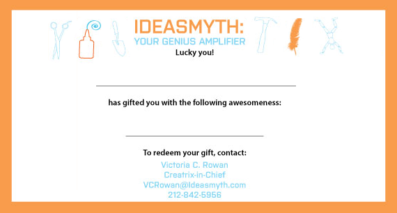 IdeasmythGiftCertificate